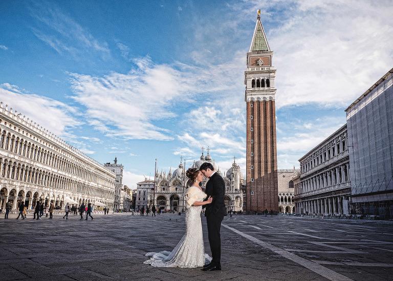 Destination bride and groom wedding