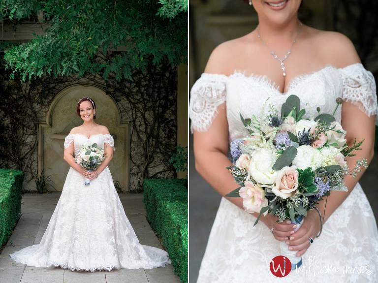 brides bouquet at TPC Valencia